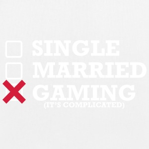 Single - Gift - Gaming - Øko-stoftaske
