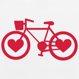 Bike Heart - EarthPositive Tote Bag