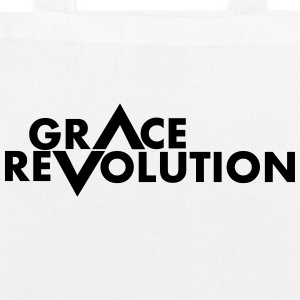 Grace Revolution - Revolution Grace - EarthPositive Tote Bag