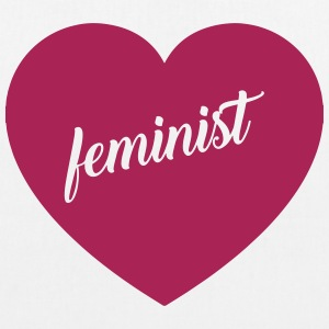 Feminist - EarthPositive Tote Bag