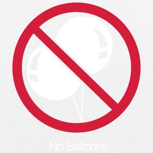 No Balloons - EarthPositive Tote Bag