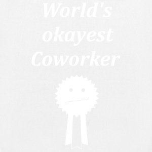 wolrd's okayest coworker - EarthPositive Tote Bag