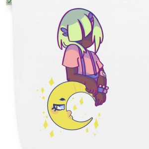 Pp and the Moon - EarthPositive Tote Bag