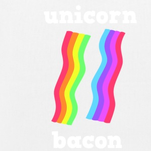 UNICORN BACON STRIPS - EarthPositive Tote Bag