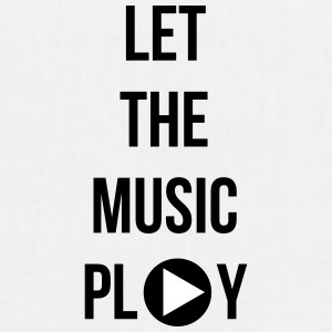 Let the music play - EarthPositive Tote Bag