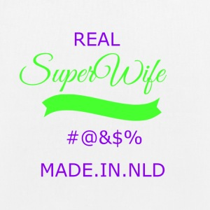 super transparent wife - EarthPositive Tote Bag