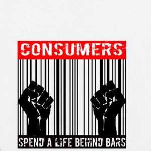 Consumers spend a life behind bars - Bio-Stoffbeutel