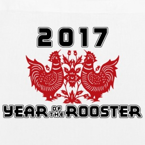 2017 Year Of The Rooster - EarthPositive Tote Bag