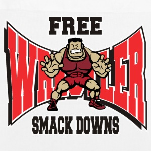 Wrestling Funny Wrestler Free Smack Downs - EarthPositive Tote Bag