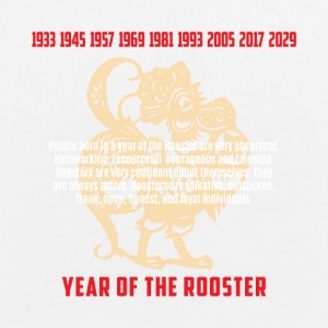 Year of The Rooster Traits Characteristics - EarthPositive Tote Bag