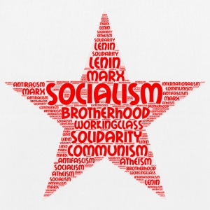 socialism word cloud - EarthPositive Tote Bag