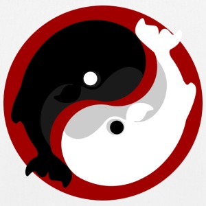 Yin Yang Whale - EarthPositive Tote Bag