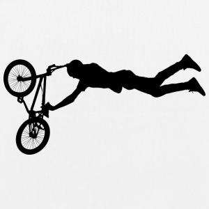 Jumping BMX / Bike Design for skaters and bikers - EarthPositive Tote Bag