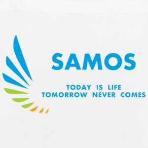 Samos Today is Life - EarthPositive Tote Bag