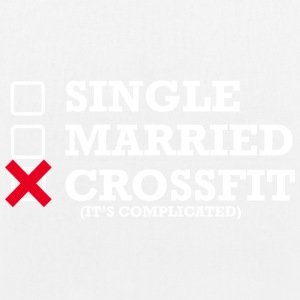 Singolo - Married - Crossfit - Borsa ecologica in tessuto