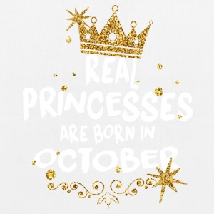 Real princesses are born in October! - EarthPositive Tote Bag