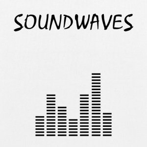 Soundwaves - spektrum - Øko-stoftaske