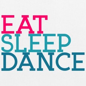 Eat Sleep Dancing - Øko-stoftaske