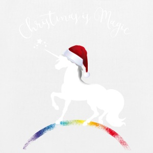 christmas_magic-unicorn Unicorn Christmas XMLs gir - EarthPositive Tote Bag