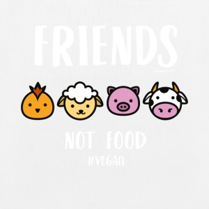 Friends Not Food #VEGAN - EarthPositive Tote Bag