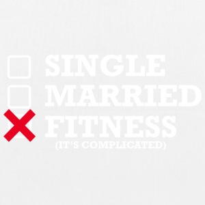 Single - Gift - Fitness - Øko-stoftaske