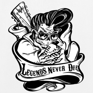 Legends Never Die - Borsa ecologica in tessuto