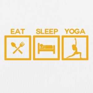 ! Eat Sleep Yoga - Cycle! - EarthPositive Tote Bag