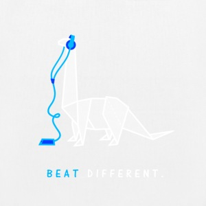 Beat different - Bio-Stoffbeutel