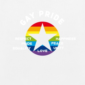 gay_star Pride asterisk love Respect proud cs - EarthPositive Tote Bag