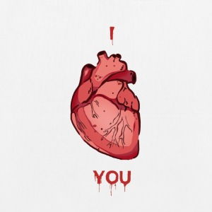 I Heart You - Bio-Stoffbeutel