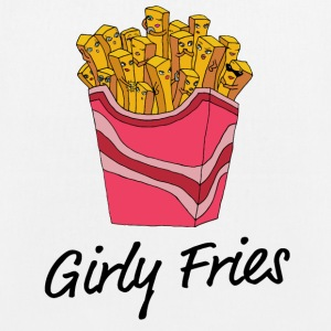 girly Fries - Bio stoffen tas