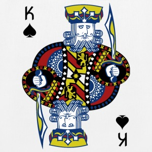 King of Spades Poker Hold'em - Øko-stoftaske