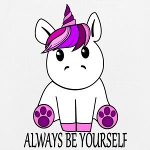 Unicorn Always be yourself - EarthPositive Tote Bag