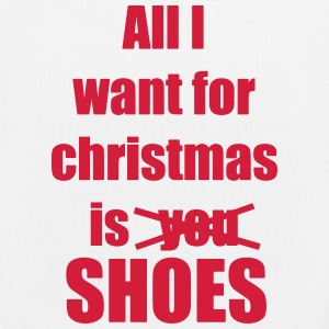 Christmas song saying shoes - EarthPositive Tote Bag