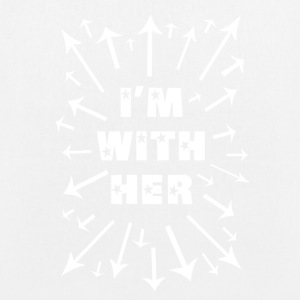 I'm With Her! Support Women Everywhere! - EarthPositive Tote Bag