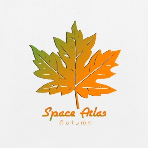Space Atlas Lange T-shirt van Autumn Leaves - Bio stoffen tas