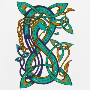 Celtic Dragon - EarthPositive Tote Bag