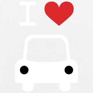 I love Car - Bio-Stoffbeutel