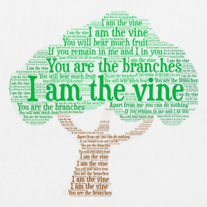I Am The Vine from Jesus Teaching - EarthPositive Tote Bag