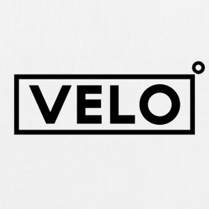 Velo Icon Blk - Long Sleeve Baseball Shirt W/N Clr - EarthPositive Tote Bag