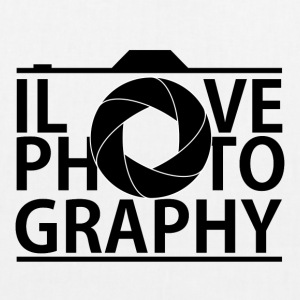 I Love Photografy - EarthPositive Tote Bag