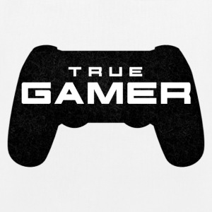 True Gamer door Juiceman Benji Gaming - Bio stoffen tas