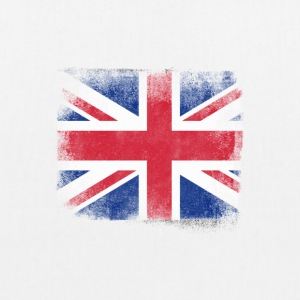 United Kingdom Flag Proud British Vintage Distress - EarthPositive Tote Bag
