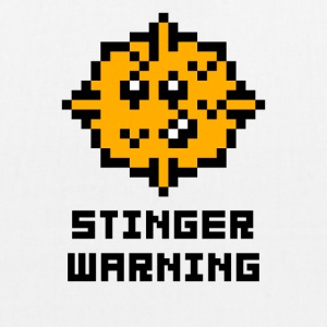 Stinger Warning - EarthPositive Tote Bag