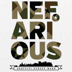 Nefarious Military Street Wear - Bio-Stoffbeutel