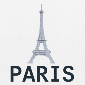 Style 2 Paris Tour Eiffel - EarthPositive Tote Bag