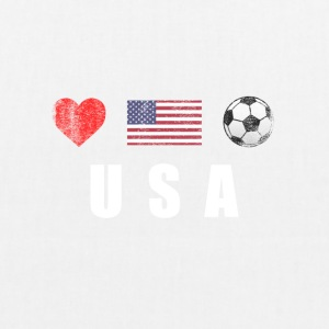 United States American Football Soccer T-Shirt - EarthPositive Tote Bag