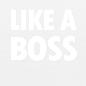Like a Boss - EarthPositive Tote Bag