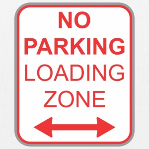 Road sign no parking Loading zone - EarthPositive Tote Bag