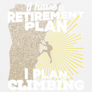 Retirement plan climbing (light) - EarthPositive Tote Bag